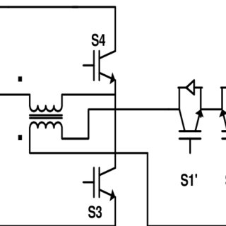10): Six-switch isolated buck-boost inverter (isolated) by