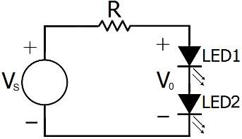 The basic circuit diagram for three LED drivers: a) Simple