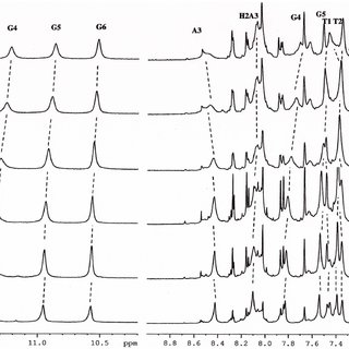 1 H NMR spectra showing NH of indole moiety and aromatic