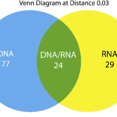 Venn Diagram Comparing Dna And Rna Whirlpool Duet Dryer Belt The Shared Nonshared Otus In June August