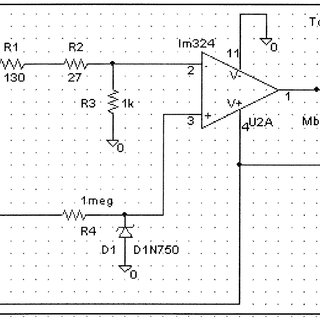 Circuit diagram for light-emitting diode (LED) array