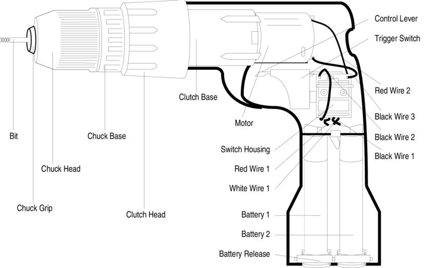 Black And Decker Drill Wiring Diagram Drill Machine Switch