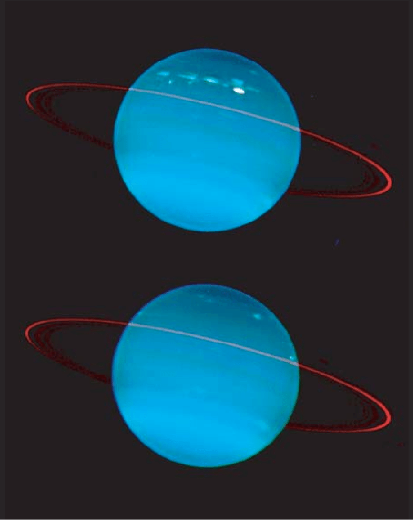 hight resolution of keck 2 image of neptune explanation see text