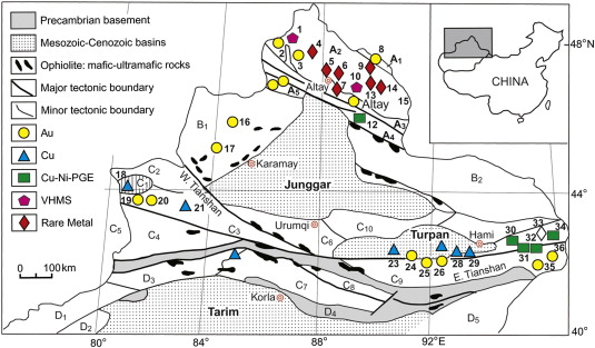 A review of mineral systems and associated tectonic