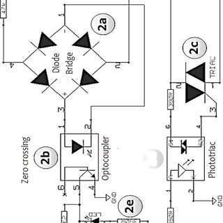 Schematic of the developed AC voltage control circuit. The