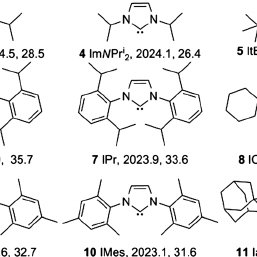 Ligands used for complex synthesis, compound number