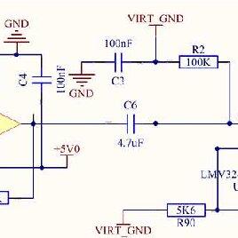 Hz Twin T Passive Notch Filter Circuit