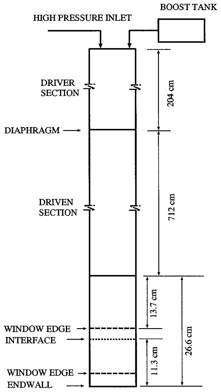 medium resolution of schematic of galcit vertical square shock tube