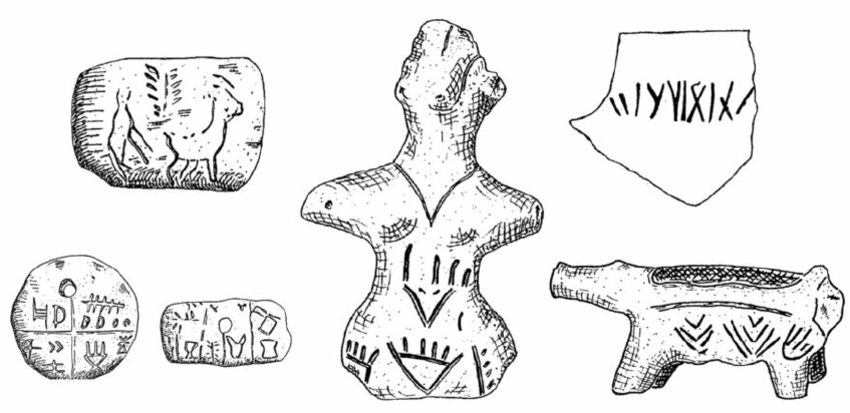 Examples of so-called Vin ã a inscriptions, from