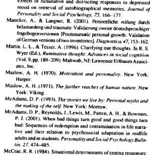 (PDF) Tedeschi RG, Calhoun LGPosttraumatic growth