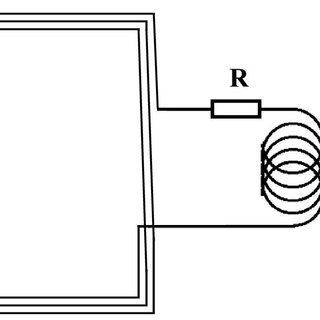 Sketch of a thin-film resistor with low magnetic noise and