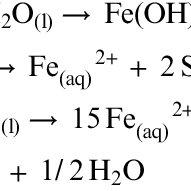 (PDF) Geomicrobiology of Pyrite (FeS2) Dissolution: Case