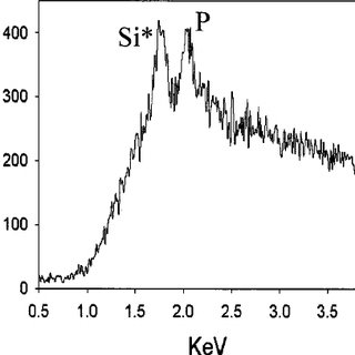 Fluorescence spectra of three parts of the separator, two