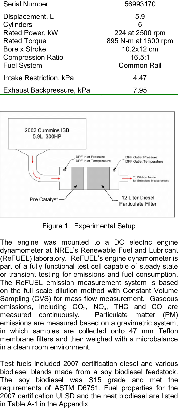 medium resolution of test engine specifications cummins isb