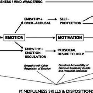 Example of Relation between Mindfulness Skills and