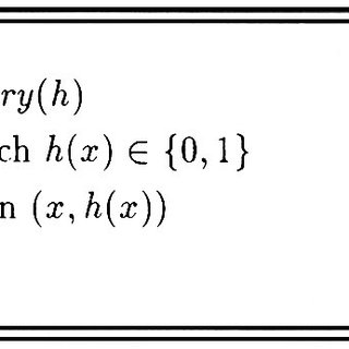 Algorithm to simulate a partial equivalence query under