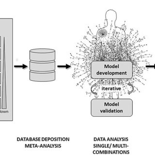 Proposed workflow for a data-driven approach in multi