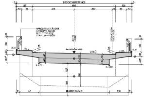 Standard crosssection of the Perschling Bridge | Download Scientific Diagram