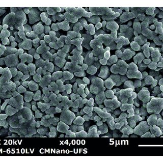 Differential thermal analysis (DTA) of the Bi2O3-TiO2