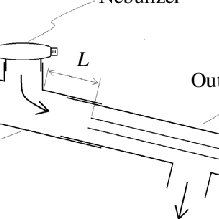 Schematic diagram of (A) SMPS measurements for charged