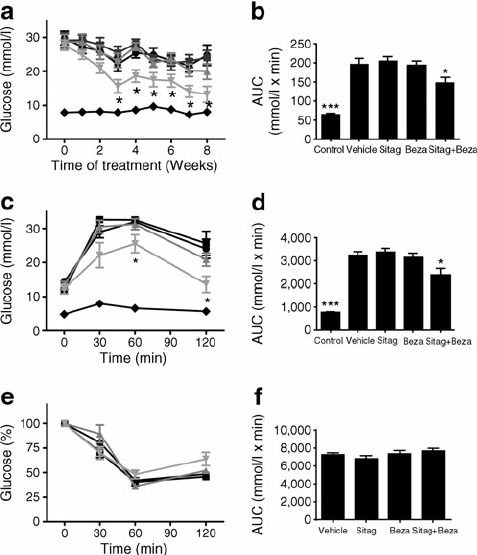 Lipid lowering enhances the efficacy of the DPP-4