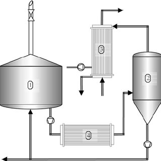 diagram of a nerd single phase capacitor start run motor wiring process the boiling system with vacuum evaporation krottenthaler et al 2001