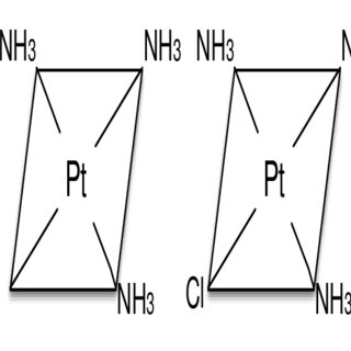 Representations of square-planar complexes without cis