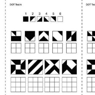 (PDF) Performance on tasks of visuospatial memory and