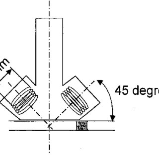 Schematic drawing of the practical coil design. A pair of