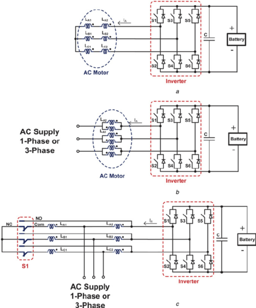 small resolution of non isolated integrated motor drive and battery charger based on the circuit diagram 3 phase battery charger circuit diagram 3 phase battery charger