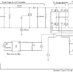 Grid Tie Inverter Circuit Diagram Harbor Breeze Fan Capacitor Wiring Complete Schematic Of Transformer Less In Psim