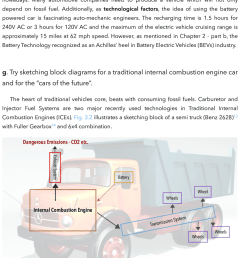 2 the sketching block diagram for the traditional car [ 850 x 1010 Pixel ]