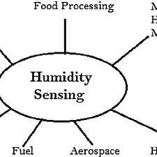 Humidity sensing set-up with ISAM overlay. (a) Schematic