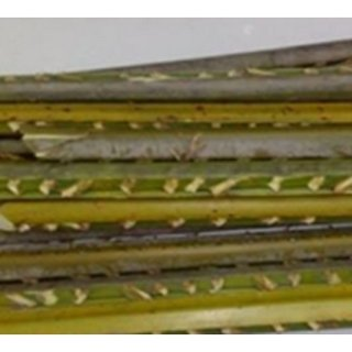 Schematics of the experimental setup: (1) air blower, (2