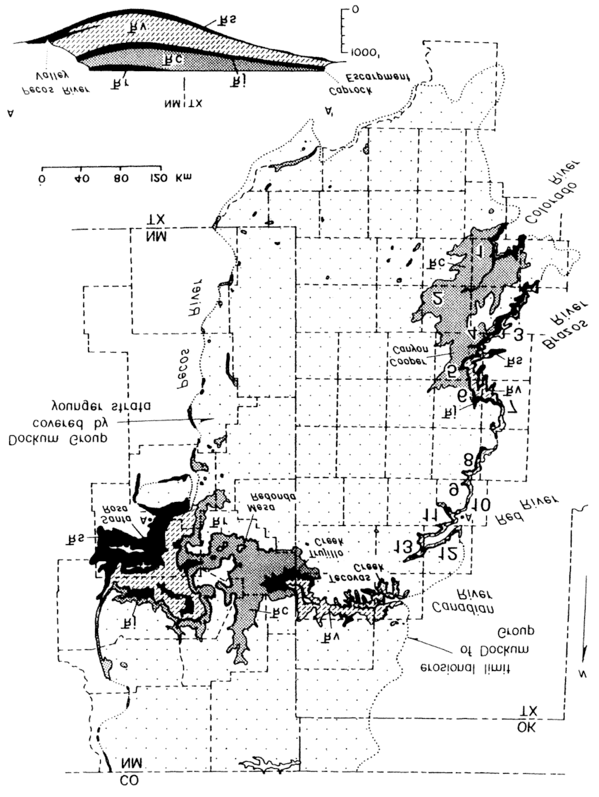 The Dockum basin of western Texas and eastern New Mexico