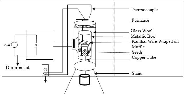 Experimental Set up of design and fabrication of Elecric