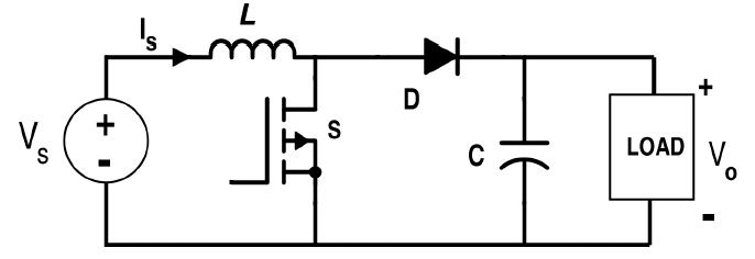 Circuit diagram of boost converter From Fig. 3, during the