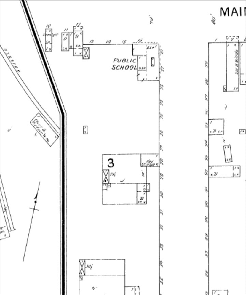 Site Location of 1893 Schoolhouse. Environmental Data