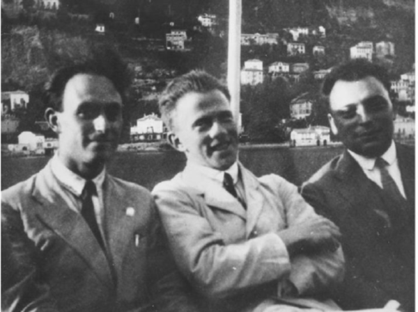 Enrico Fermi Werner Heisenberg and Wolfgang Pauli around