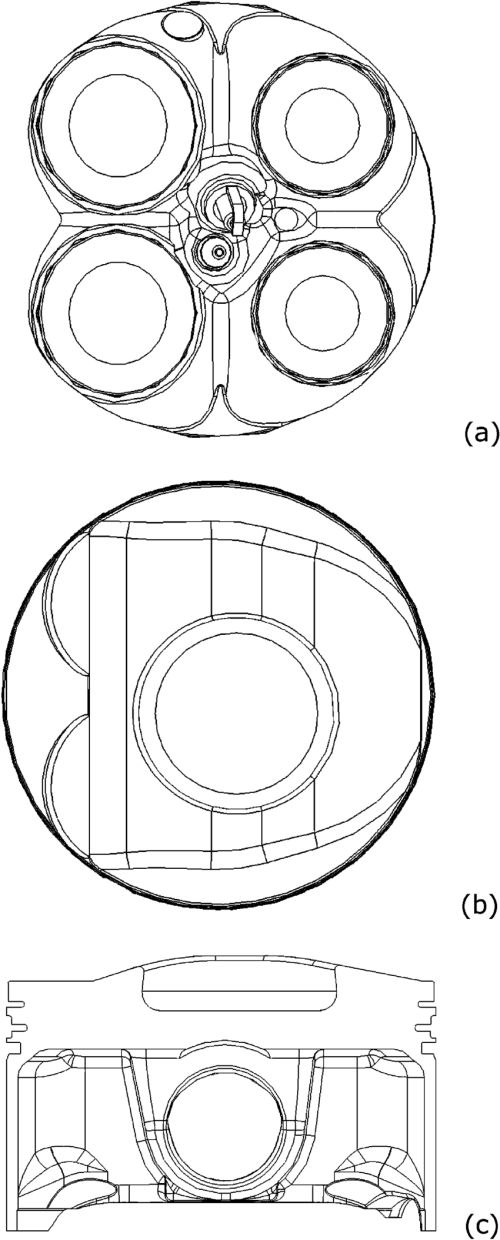 small resolution of test engine cylinder head and piston
