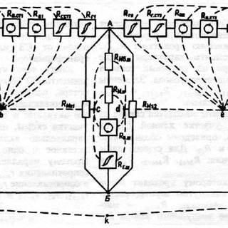 Vector diagram of a transformer with a magnetic shunt for
