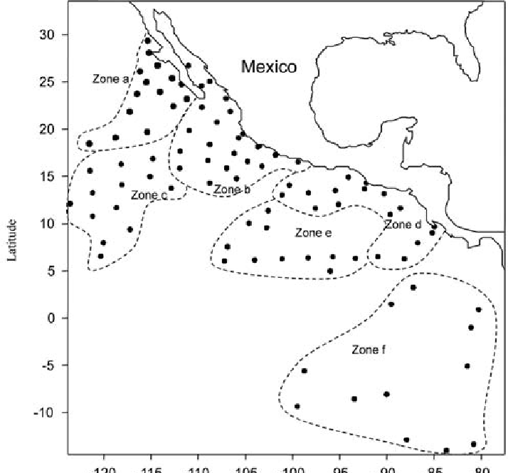 Study area and sampling stations in the Eastern Tropical