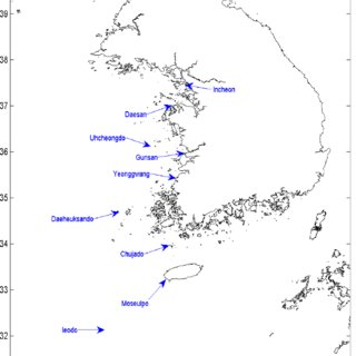 (PDF) Storm Surges in West Coast of Korea by Typhoon
