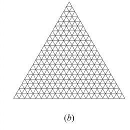 A hemispherical enclosure with a circular hole: ( a