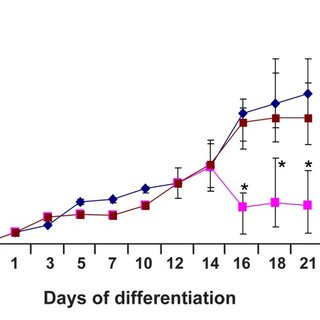MTT osteogenic differentiation analysis. Cell viability