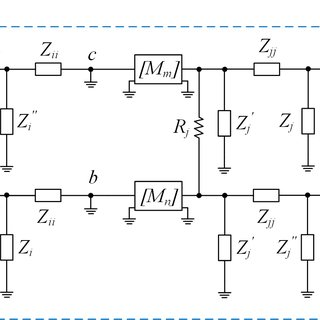 Equivalent circuit block diagrams of proposed DGS and slot