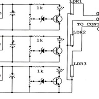 Circuit Diagram for RYB Checker. This module monitor RYB