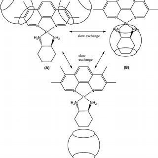 The chemical structures of the 1,10-phenanthroline and