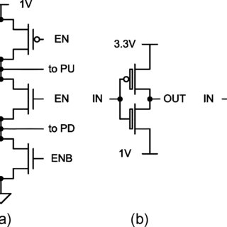 Whole output buffer that drives the 3.3-V output signal in