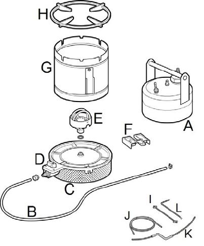 Plant oil pressure stove
